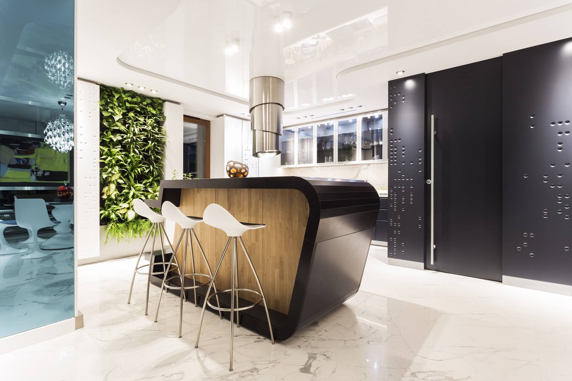 Kuchnia w apartamencie prywatnym